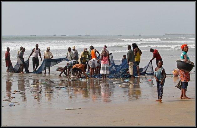 vissen in Accra