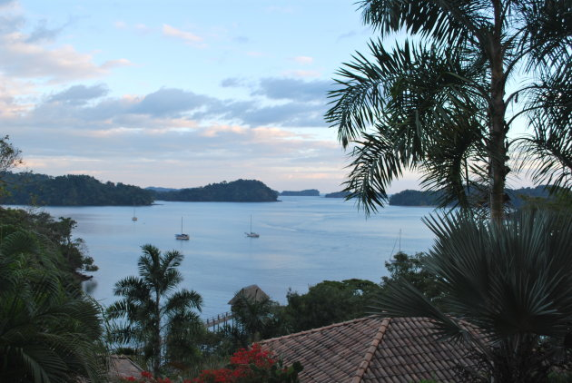 Uitzicht op Marine Parque Nacional Chrique vanuit Boca Chica