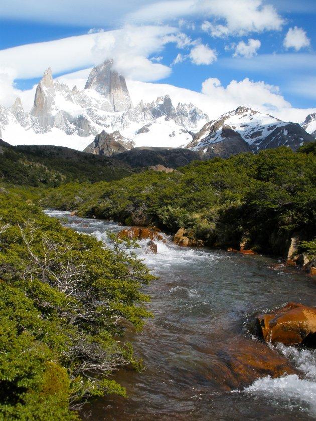 Mount Fitz Roy in Los Glaciares