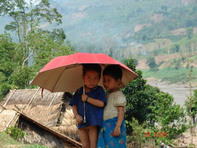 Onder de parasol