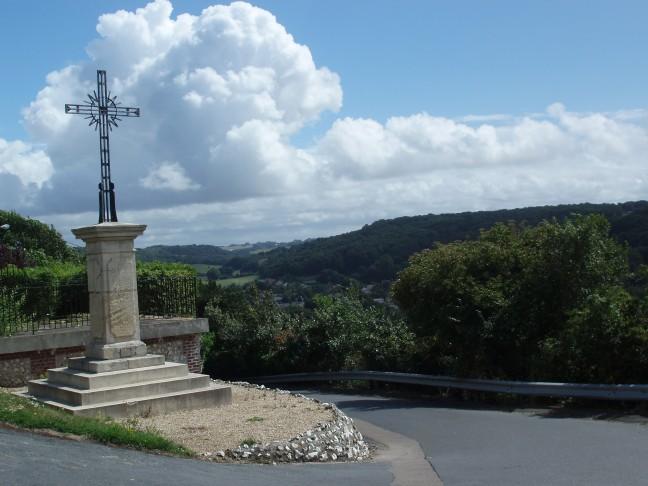 Monument in Normandie