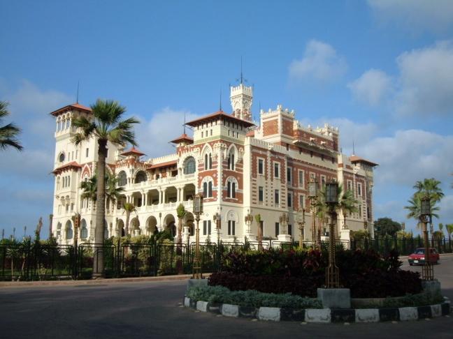 Palace in het Muntazah Complex