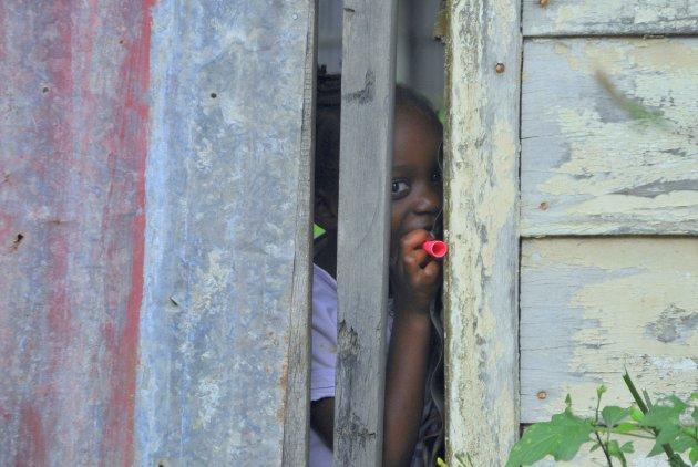 meisje uit Paramaribo