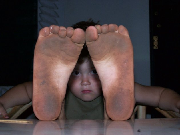 mega vieze voeten