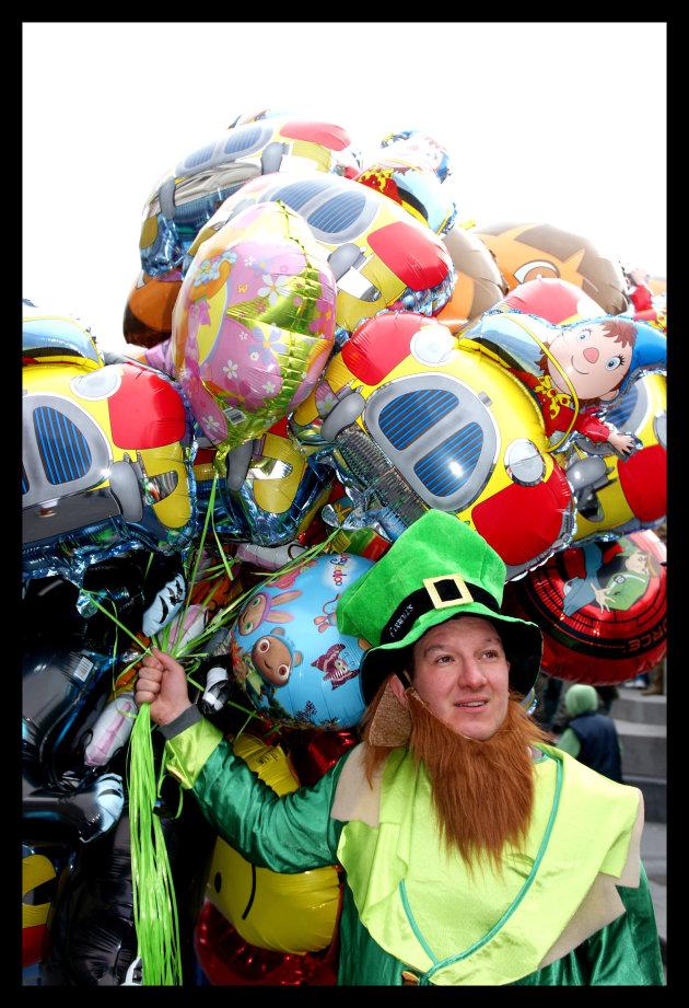 wie wil er een ballon?