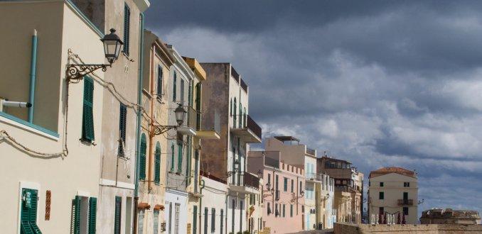 Straatje in Alghero