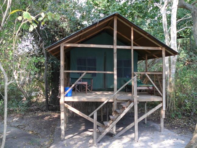 Het verblijf aan de Rufijirivier