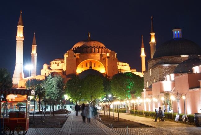 Hagia Sofia  by Night