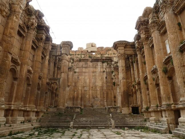 Archeologische opgravingen Baalbek