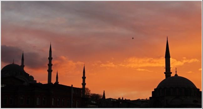 Süleymaniye Camii moskee.