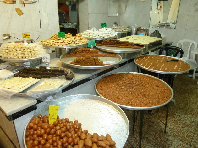 lekker eten in souk Sidon