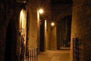 ondergronds stratenplan in Perugia