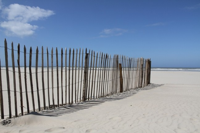 Het strand van Le Touquet Paris-Plage