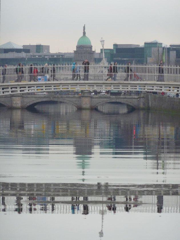 stadsbeeld in Dublin