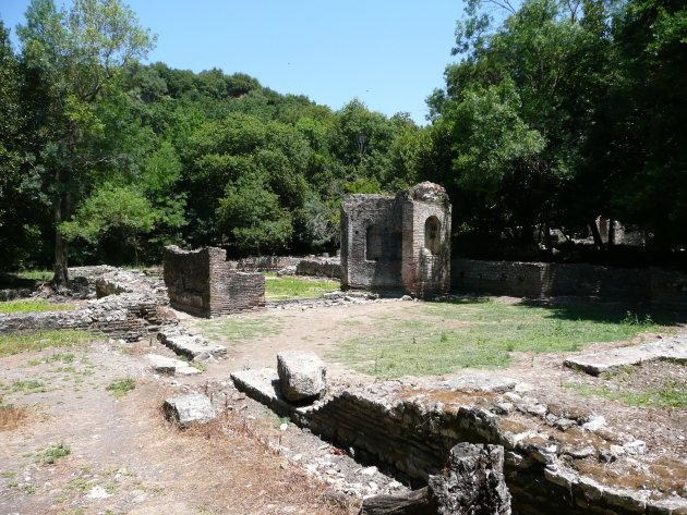 Nympheum in het gymnasium Butrint