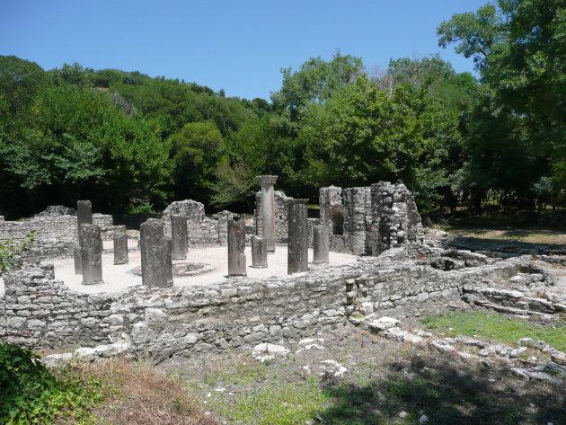 Baptisterium van Butrint
