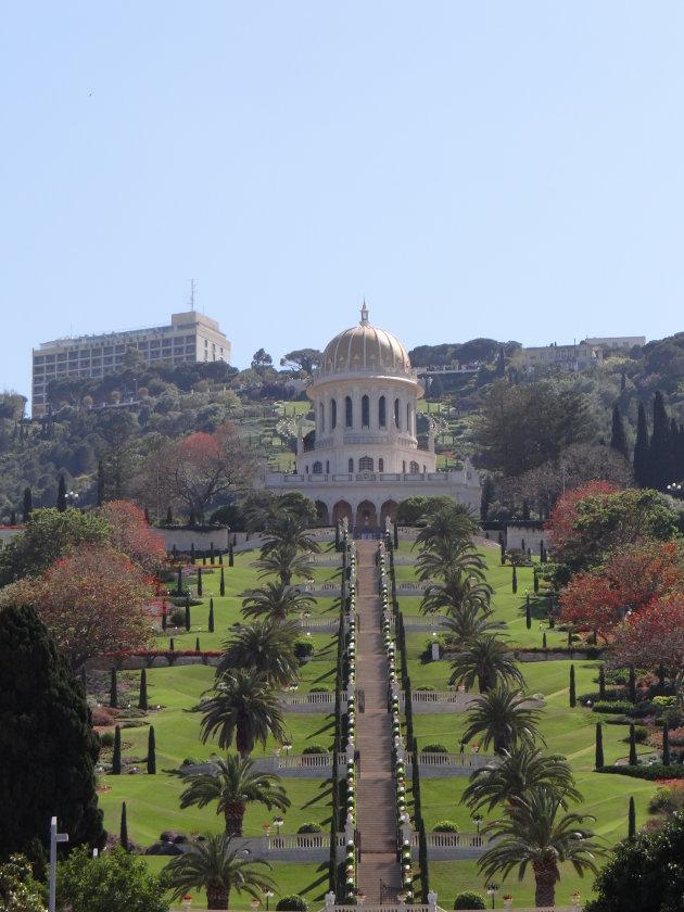 De Bahai tuinen van Haifa