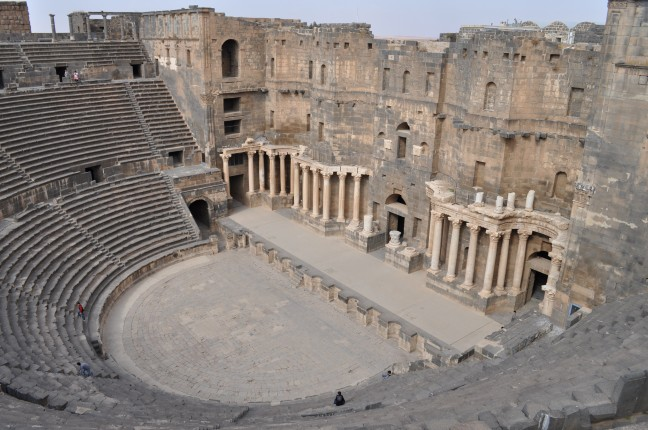 Romeins theater te Bosra