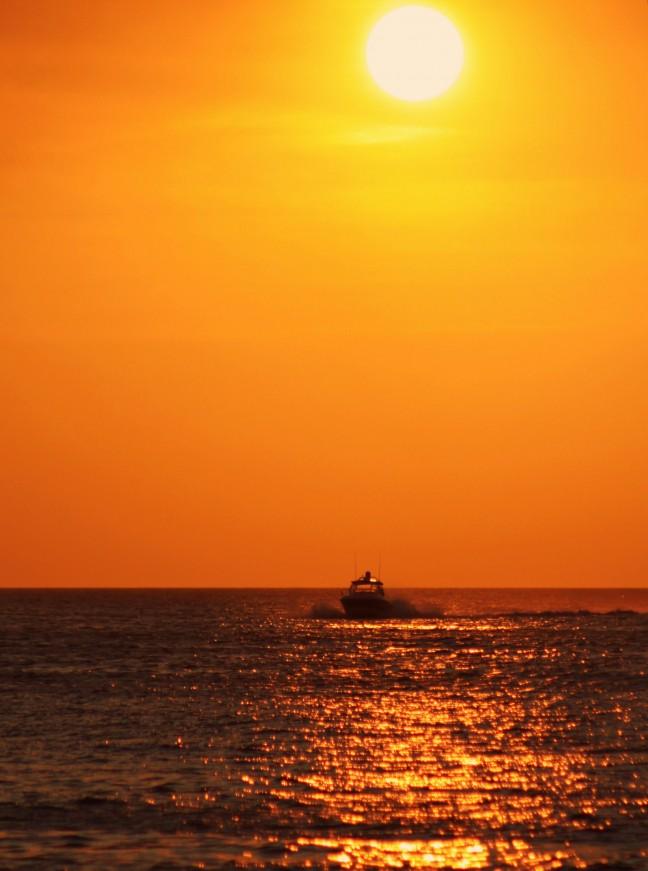Oranje golven