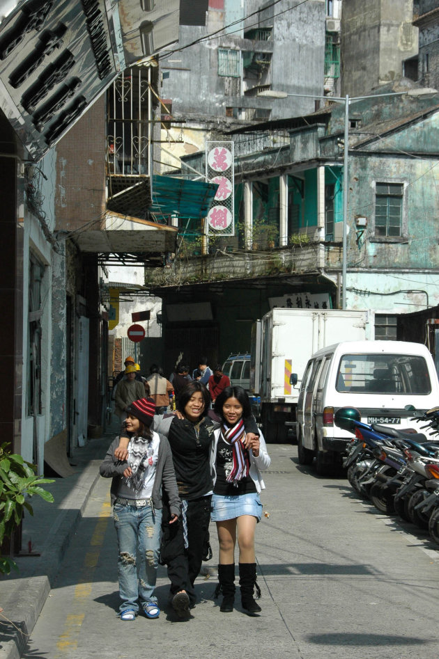 Straatje in Macau