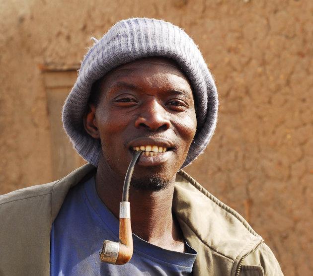 Pijproker in Mali