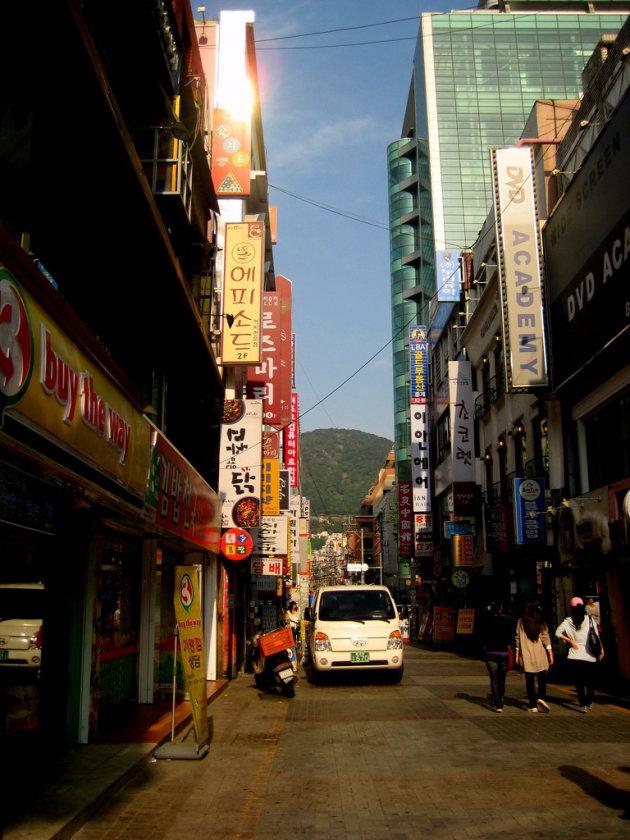 Street scene in Busan