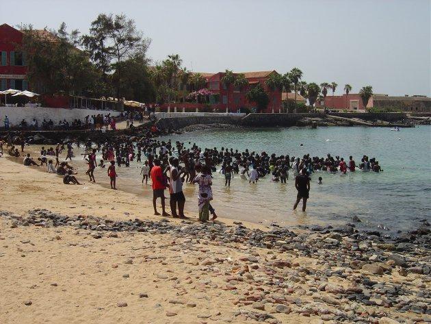 Strand van Ile de Gorée, Dakar