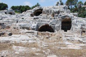 Het vermeende graf van Archimedes - Syracuse