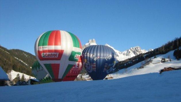 Luchtballon in Filzmoos