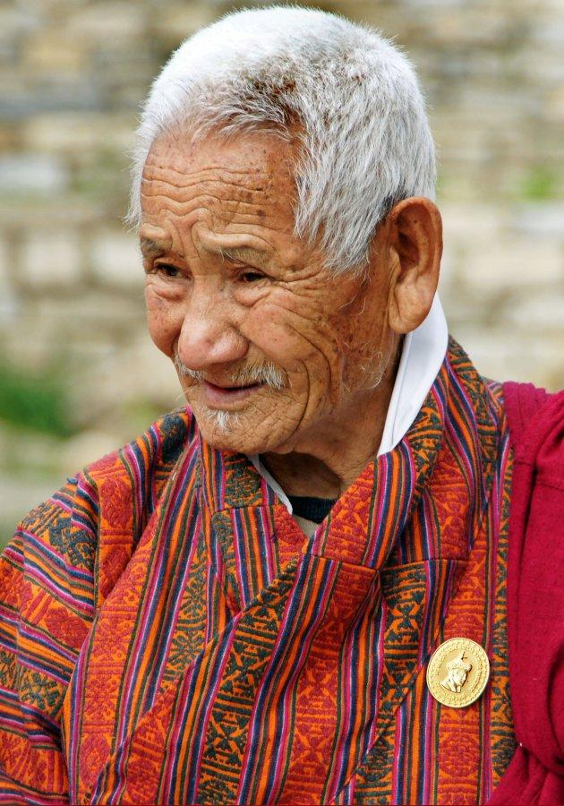 Burger van verdienste in Bhutan