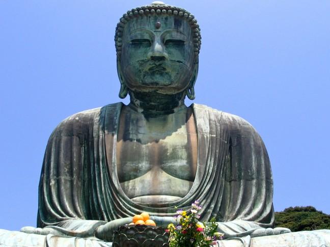 Grote Boeddha Kamakura / Daibutsu