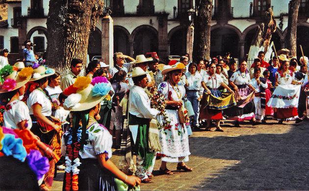 Folklore in Patzcuaro