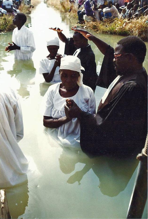 Ontmoeting met dopelingen