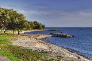 Relaxen aan het Lake Ontario