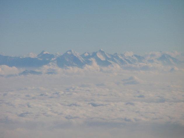 Alpen boven het wolkendek 1