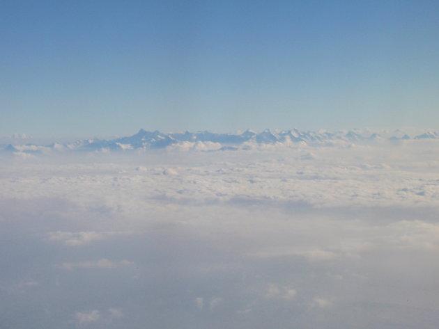 Alpen boven het wolkendek 2