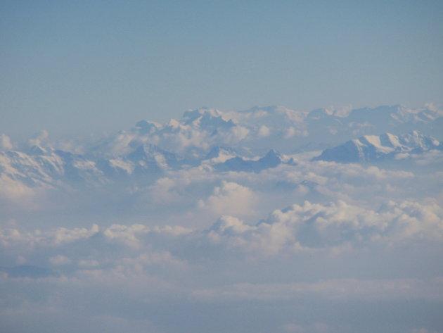 Wolken of bergen?