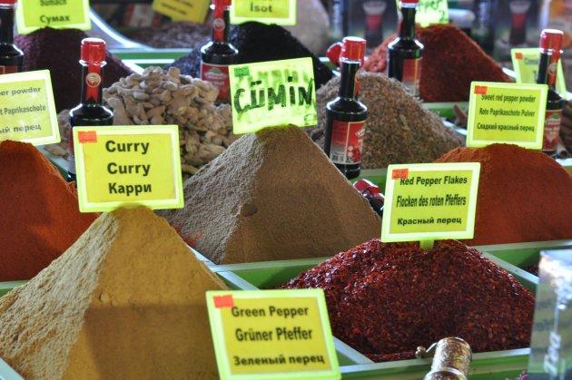 Kruiden op Turkse markt