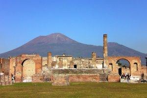 Vulkaan Vesuvius - Pompeii