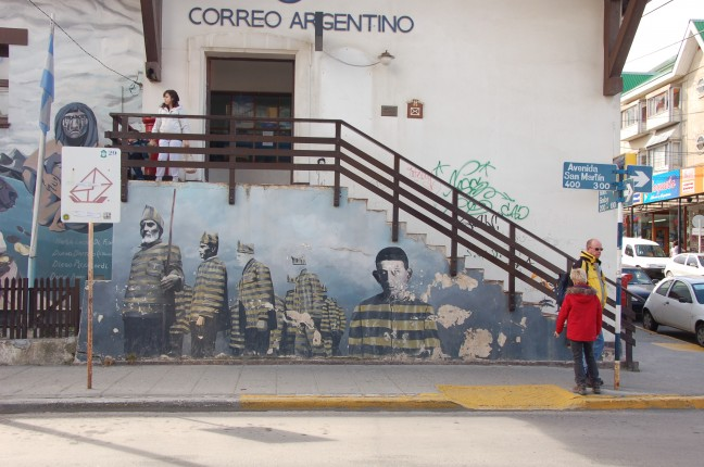 muurschildering strafkolonie