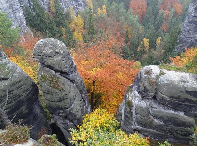 Herfst in Saksen