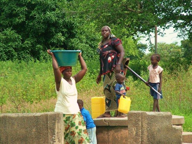 De waterpomp