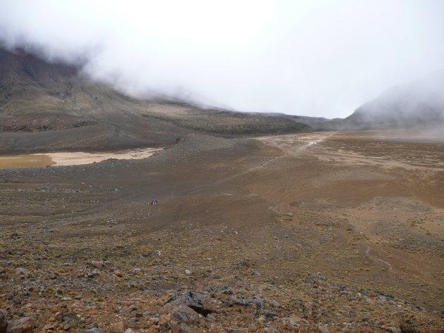 Maanlandschap in Tongariro NP