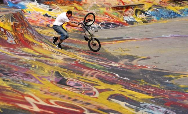 Kunsten op de skatebaan 2