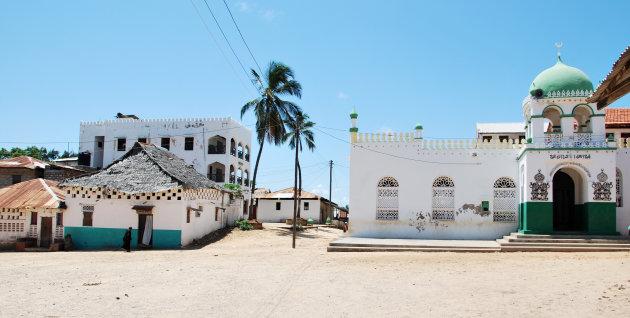 Lamu, stad van de moskeeen