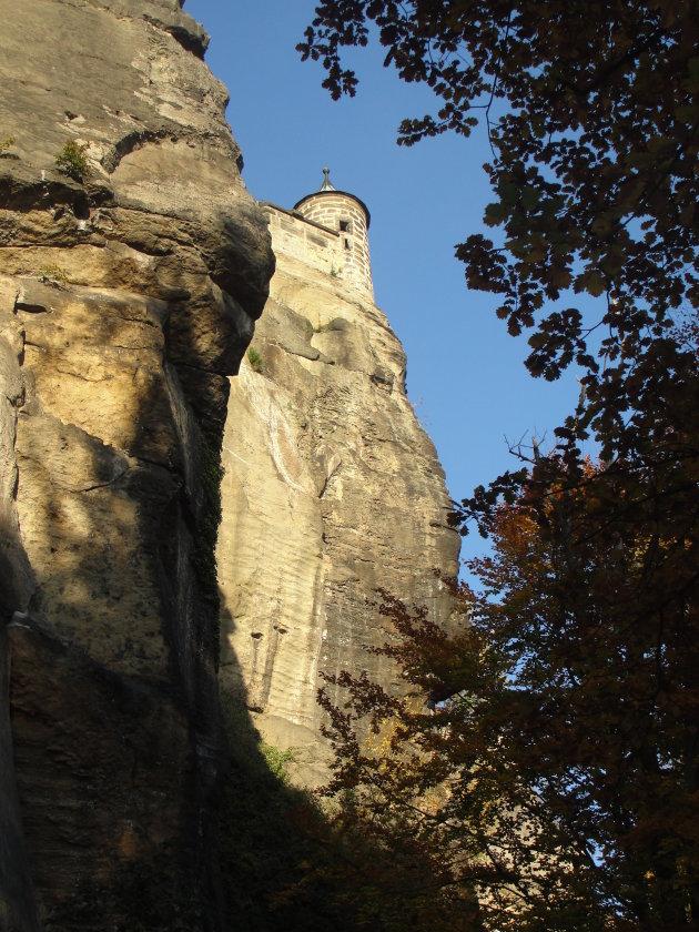 De vesting Königstein