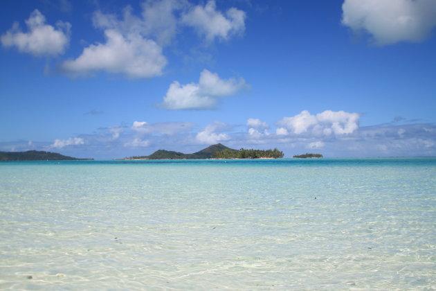Bora Bora verlaten motu