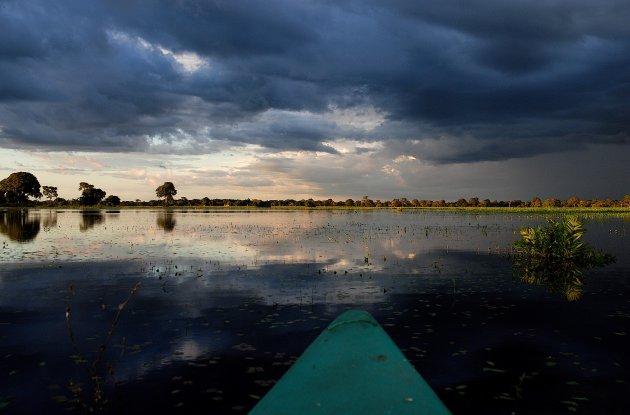 varen in de Pantanal