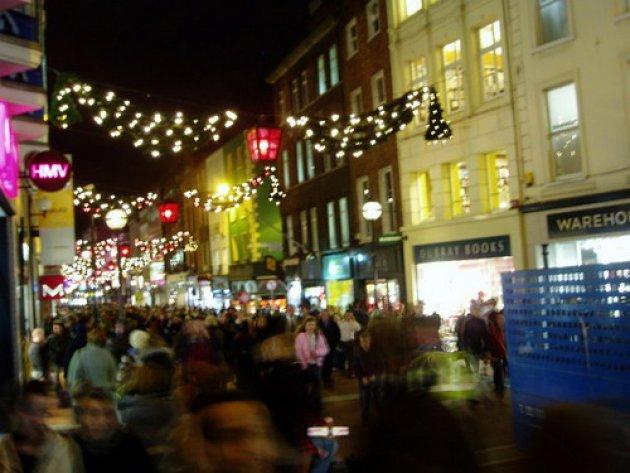 Christmas in Dublin > Grafton Street