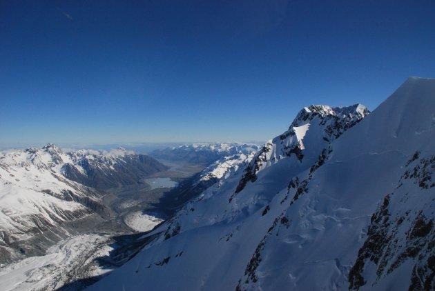 Mount Cook uitzicht
